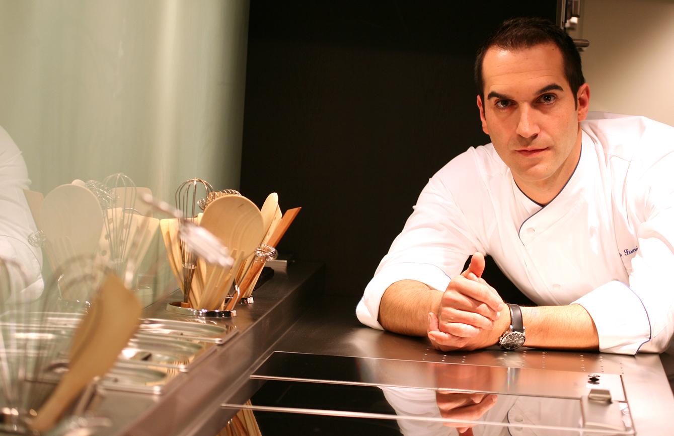Mario Sandoval es el Chef de La Romanée.